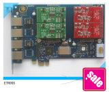 Tarjeta del asterisco AEX410 tarjeta PCI Express del asterisco PCI-E tarjeta del asterisco