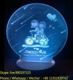 Lampe de nuit Creative Acrylic Creative pour le cadeau de la Saint-Valentin