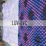Programmeerbaar LED-gordijn voor trouwerij/witte kap en LED-gordijn Voor decor