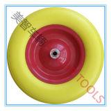 Rotella gialla della gomma piuma dell'unità di elaborazione della prova 4.80/4.00-8 di puntura
