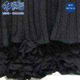 Черной безрукавный Newstyle плиссированное прокладкой платье свободного сексуального способа длиннее