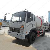 Mélangeur de ciment léger Sinotruk 3m3 Camion de transport en béton