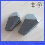 Tunnel Boring炭化タングステンShield Cutterの炭化物Tips
