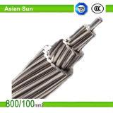 Transmisión de teleférico, la norma ASTM, AAC / AAAC / ACSR, conductor de aluminio