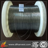 El alambre hecho del alambre de acero montó