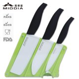 Mirror Black Ceramic Knives SetのためのPromotion/Christmas Gift