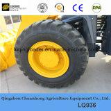 セリウムによって証明される高品質の中国のブランド3tonの車輪のローダー