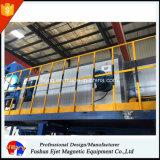Integrierte magnetische verursachen aktuelles System für das Metall-Enthaltene Material-Sortieren