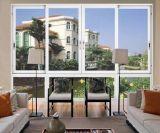 Thermischer Bruch-wasserdichtes/schalldichtes schiebendes Aluminiumfenster für Wohnhaus-Balkon
