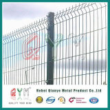 Curvy сваренная цена по прейскуранту завода-изготовителя загородки панелей загородки ячеистой сети сваренная /3D