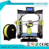 Rise High Accuray Rapid Prototype Desktop DIY máquina de impressão 3D