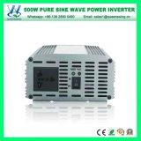 Inverseur pur utilisé à la maison portatif d'onde sinusoïdale 500W (QW-P500)