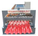 Feuille de toiture de zinc faisant le toit en métal de machines lambrisser le roulis formant la machine à vendre
