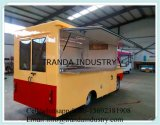 Viajar móvil Cocina con 4 Ruedas Van móvil