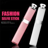 Smartphones를 위한 2016년 입술 광택 Selfie Monopod 휴대용 Selfie 지팡이