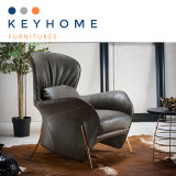 Современных кожаный диван салон для отдыха в домашней мебели