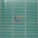 De groene Tegel van het Mozaïek van de Pool van de Badkamers (PT65)
