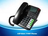 4 lignes de téléphone IP SIP à double support Protocole&H 323