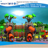子供(H14-03255)のための多彩な屋外の運動場のスライド