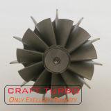 Asta cilindrica della rotella di turbina del T2