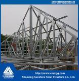 Edificio prefabricado de la estructura de acero de la alta calidad del bajo costo de la casa con la viga de H