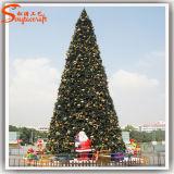 공장 직접 인공적인 플라스틱 LED PVC 크리스마스 플랜트 나무