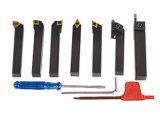 Держатель 7 инструментов Indexalbe комплектов инструментов металла PCS поворачивая