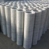 金網をふるうステンレス鋼の編まれたひだを付けられた砂