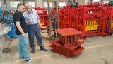 Новая машина блока кирпича конструкции Qtj4-40 полуавтоматная Compressed