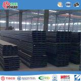 Tallas suaves del canal de acero del canal de acero U de carbón de ASTM A53