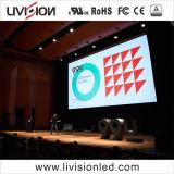 P3.9屋内ビデオスクリーンのパネルLEDのレンタル壁のボードのLED表示
