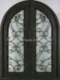 優雅な装飾用の鉄の習慣によってアーチ形にされる出入口