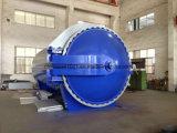 los 3.5*6.5m o reactor de cristal modificado para requisitos particulares de la autoclave para la laminación de cristal en China con PLC Programmar