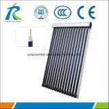 Échangeur de chaleur en cuivre collecteur solaire solaire avec 20 tubes à vide