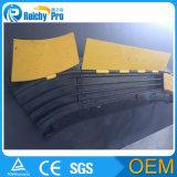 Reichy 2 протектор кабеля 3 5 пандусов автомобиля протектора случая канала напольных резиновый