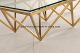 Neue Art-moderner Marmorwohnzimmer-Kaffeetisch und Mitte-Tisch