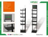 Einkaufszentrum-Bildschirmanzeige-Regal mit 20 Haken