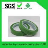 Nastro autoadesivo a temperatura elevata di verde dell'animale domestico con l'adesivo del silicone per protezione contro il calore di 200 C