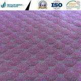 특별한 분홍색 100%Polyester Matttress&Pillow 덮개 직물