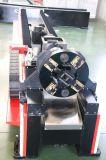 Macchina del laser della fibra del piatto e del tubo per il metallo delle rotelle di taglio