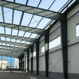 Entrepôt préfabriqué léger en métal de structure métallique