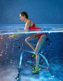 Оборудование для фитнеса воды осуществлять на велосипеде в бассейн, водяную вращается велосипед, Spin Bike
