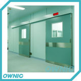 Hôpital hermétique hermétique de porte de la porte coulissante Qtdm-19