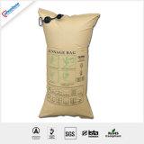 Ahorro de costes evitar daños por transporte 1 capas de papel bolsas de aire inflables para el embalaje