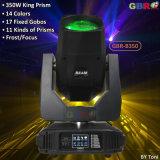 Gbr-B350 350W Super King Prisma moviendo la cabeza iluminación haz