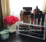 Présentoir cosmétique de qualité bon marché Using l'acrylique