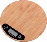 Balance de cuisine de pesage de bambou Échelle numérique Échelle alimentaire