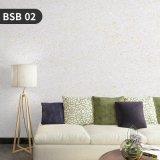 Sala de bricolaje artístico saludable líquido de algodón de seda de papel tapiz de Revestimiento de pared
