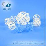 プラスチック三朴PPのPE、PVC、CPVC、PPSのPVDF任意化学タワーのパッキング