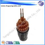 XLPE изолировало обшитый PVC кабель системы управления добычи угля